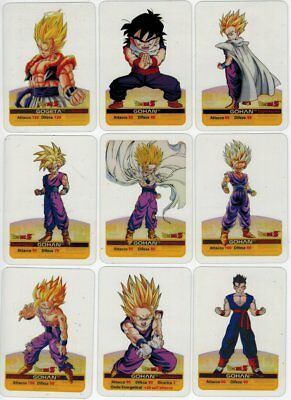 Dragon Ball Z Platino Lamincards - Set 1/75 Clear Cards