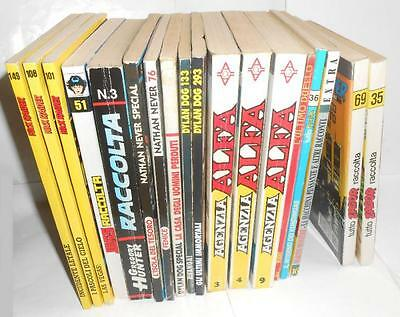 Lot 18 Comics Bonelli Zagor Legs Dylan Dog Nick Raider Nathan Never