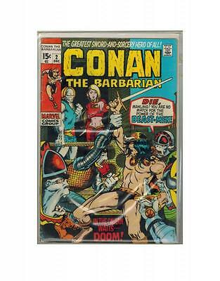 Conan The Barbarian 2 Marvel Comics 1970 VG