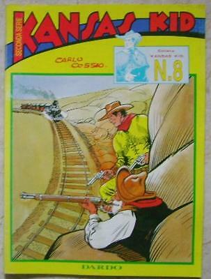 Kansas Kid Seconda Serie # 8 Dardo 1996 Carlo Cossio Comics