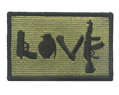 I love PATCH ARMY MORALE TACTICAL MORALE BADGE PATCH  SK+ 724