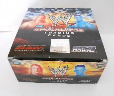 WWE Apocalypse Cards Box 24 Packs Wrestling Topps Italy