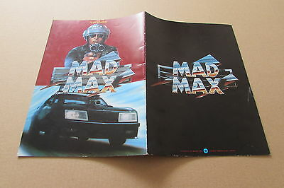Mad Max Gibson Samuel Program From Japan (April 1)
