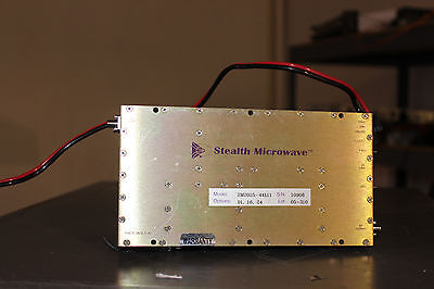 Stealth Microwave Mercury SM2024-44L11 2-2.4 Ghz microwave Amplifier