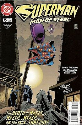Superman: Man Of Steel #75 (Dc) 1998 (Nm-)