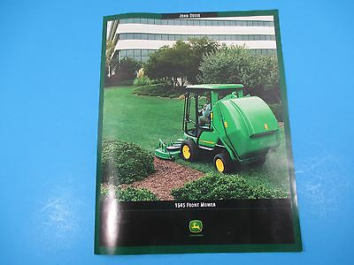 Original John Deere Sales Brochure 1400 /& 1500 Series II//1600 Mowers 2004 M1358