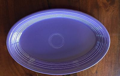 Fiesta Fiestaware Retired Lilac Large Oval Platter First Quality Unused