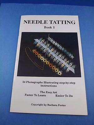 Tatting Needles Learn Step-by-Step Barbara Foster How to ...