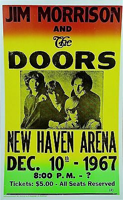 "The Doors New Haven Arena 16"" x 12"" Photo Repro Concert Poster"