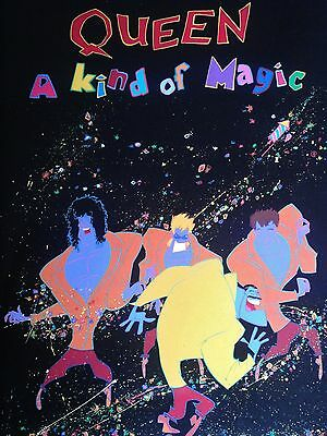 """Queen A Kind of Magic  16"""" x 12"""" Photo Repro Promo Poster"""