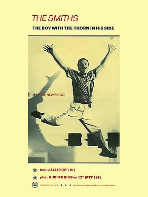 """The Smiths BOY WITH A THORN 16"""" x 12"""" Photo Repro Promo  Poster"""