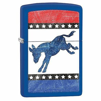 Zippo Lighter 229 Democratic Donkey   New in Box 29166