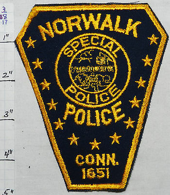 Connecticut, Norwalk Special Police Patch