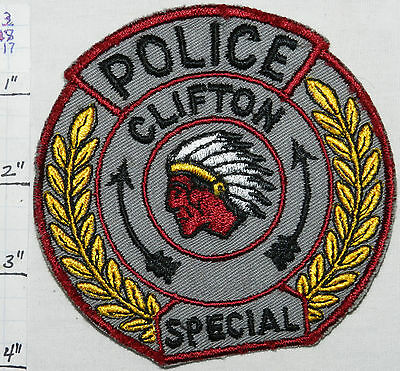 New Jersey, Clifton Special Police Vintage Patch