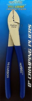 ProFish Fishing Pro-Crimp 8 in. Crimping Pliers New