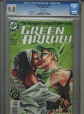 Green Arrow #28 CGC 9.8 (2003) Highest Grade Only 1 @ 9.8
