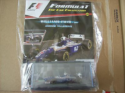 Formula 1 The Car Collection Part 26 Williams FW19 1997 Jacques Villeneuve