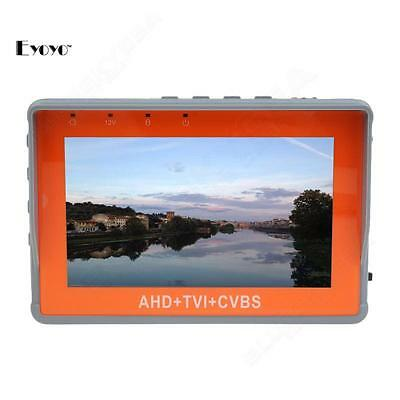 "1080P AHD TVI HD Analogy CCTV Camera PTZ Control 4.3"" Video Monitor Tester UTP"
