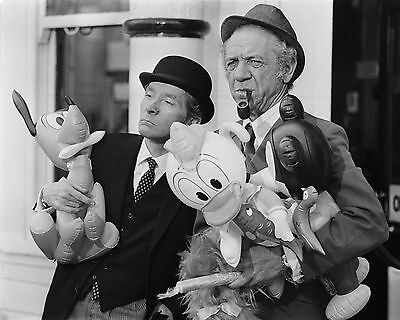 """Kenneth Williams and Sid James  Carry On 10"""" x 8"""" Photograph no 2"""