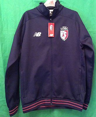 Lille LOSC Football Club Men's Large Walk Out Jacket New Balance Unworn