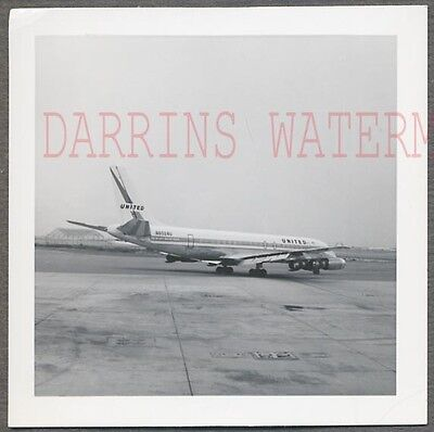 Vintage Photo Douglas DC8 Airplane United Airlines 756370