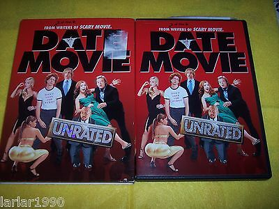 Date Movie (DVD, 2006, Unrated; Widescreen) with Slipcase~20th Century Fox