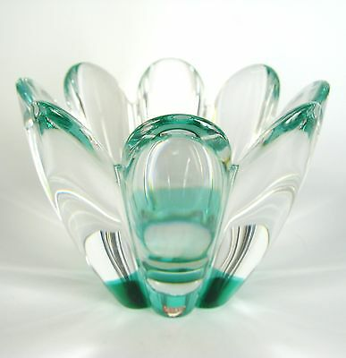 Orrefors Glas Schale Serie Mayflower Jan Johansson Design Glass Bowl Sweden
