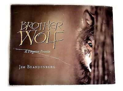 BOOK BROTHER WOLF A FORGOTTEN PROMISE JIM BRANDENBURG signed 1st Ed Minnesota