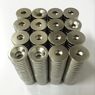 50/100pcs Lot Super Strong Round Disc Magnets Earth Neodymium Magnet N50