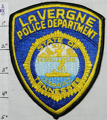 TENNESSEE, LaVERGNE POLICE DEPARTMENT PATCH