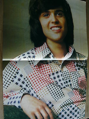 Donny Osmond - 1970's  Magazine Centrespread Poster (Ref T12)