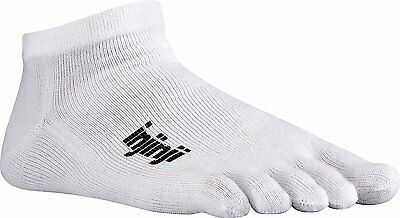 Injinji Performance Sport Original Weight Micro CoolMax Toe Socks -White-XL