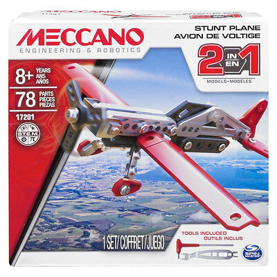 Meccano Engineering And Robotics Stunt Plane Bnib