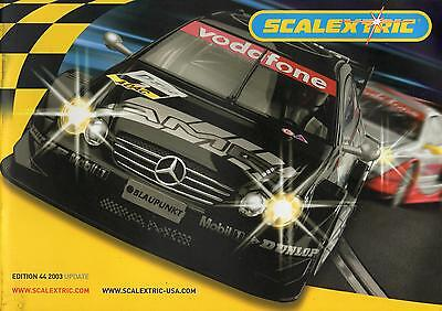 Scalextric 2003 Update Catalogue - Edition 44