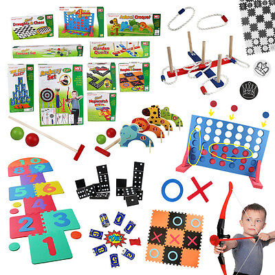Kids Giant Outdoor Garden Lawn Games Play Adults Family Fun Party School Toys