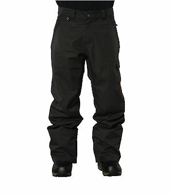 Bonfire Snowboard Pants - Taggart Gold Collection - Cargo Pant Black Blue 2017