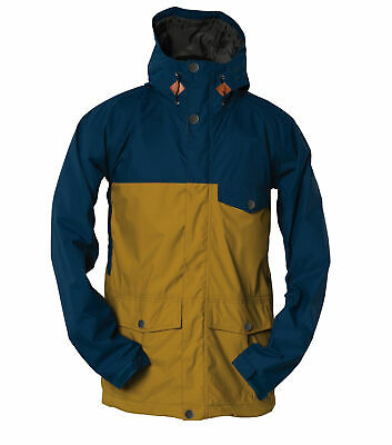 Bonfire Snowboard Jacket - Wakeena Gold Collection - Blue Red Orange Green 2017