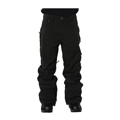 Bonfire Snowboard Pants - Kane Platinum Collection -Cargo Pant Black Green 2017