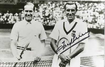 Fred Perry † 1995 England Tennis Legende Foto original signiert 299535