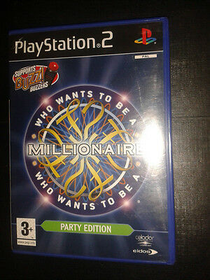PLAYSTATION 2 PS2 buzzers big quiz music sports who wants to