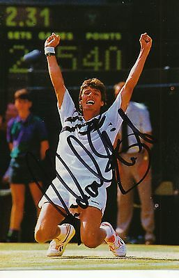 Michael Stich   Tennis Foto original signiert 299794