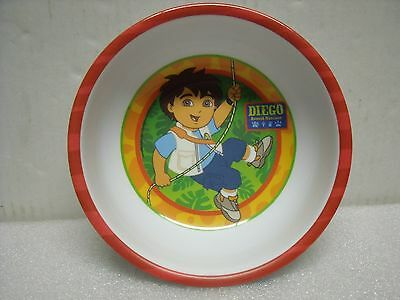 """Bowl Diego Animal Rescuer Swinging on a Rope Jungle 5 1/2 """" Round  Zak Designs"""