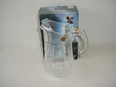 Longchamp Lead Crystal Pitcher Cristal DArques France
