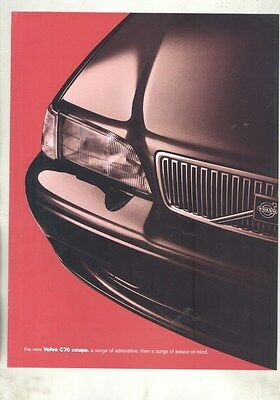 1998 Volvo C70 US Brochure my7282