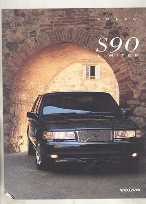1998 Volvo S90 US Brochure my7285