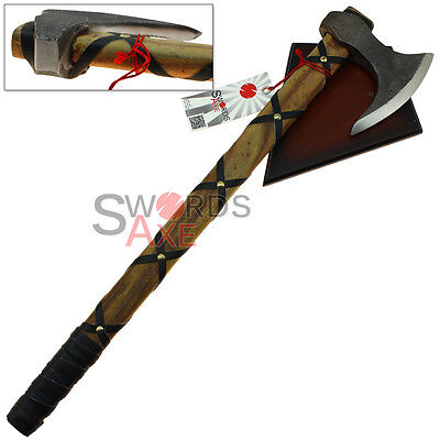 Historical Vikings Axe of Ragnar Lothbrok - Stainless Steel Replica Nordic Style