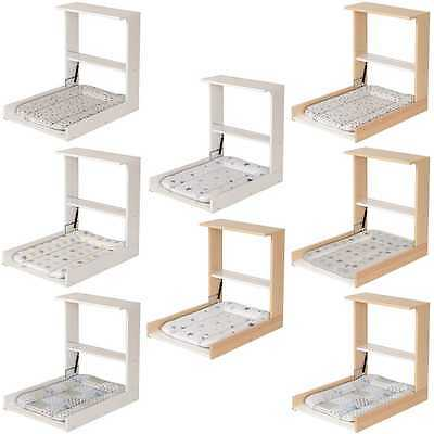 Geuther 4872 Wall winding shelf Wicki - space-saving Changing table for the