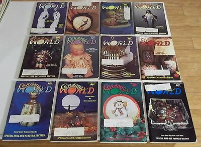 FULL YEAR of 1979 CERAMIC WORLD Magazines (Combined Shipping Deal)