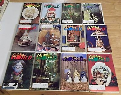 FULL YEAR 1976 CERAMIC WORLD Magazines (Combined Shipping Deal)