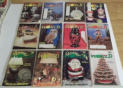 FULL YEAR of 1978 CERAMIC WORLD Magazines (Combined Shipping Deal)
